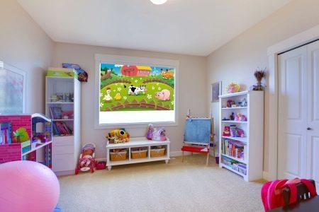 Тюль для детской комнаты