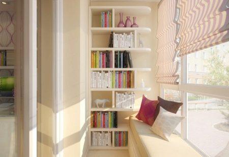 Советы опытных мастеров как выбрать красивый шкаф на балкон .