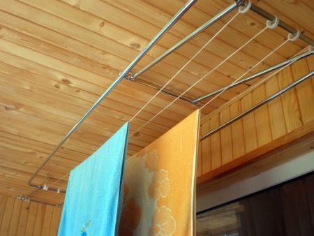 Потолочная сушка для белья на балкон - всё о балконе.