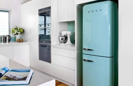 farbige Kühlschränke