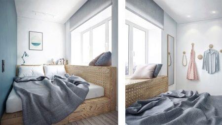 Aufgrund Der Unterschiedlichen Art Der Dekoration Ein Kleines Schlafzimmer  Auszustatten Ist Viel Einfacher Geworden.