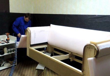 Корпус мягкой мебели своими руками 80