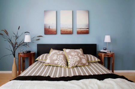 Untuk Mewujudkan Suasana Seperti Itu Dapat Membantu Elemen Hiasan Yang Berbeza Termasuk Lukisan Bilik Tidur