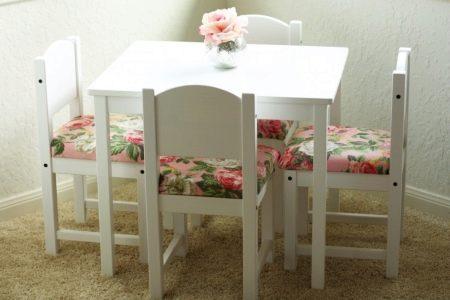 la mesa de Ikea niños