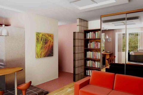 Перепланировка 2-х комнатной квартиры хрущевки | Стильный дизайн ... | 320x480