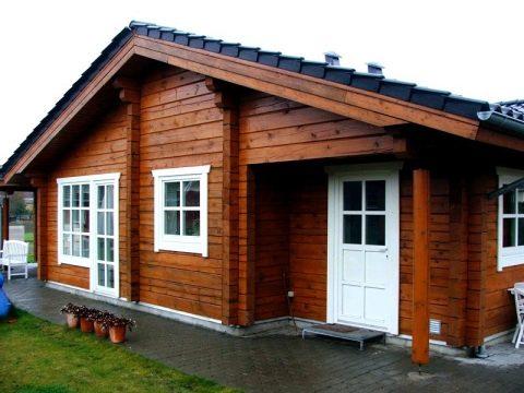 Проект дома-бани из оцилиндрованного бревна №200 - дом-баня из ... | 360x480