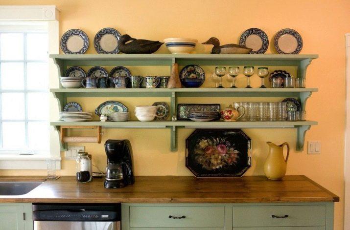 Кухонные полочки из дерева своими руками фото