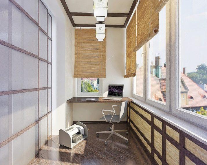Дизайн лоджии (88 фото): современные идеи интерьера балконов.