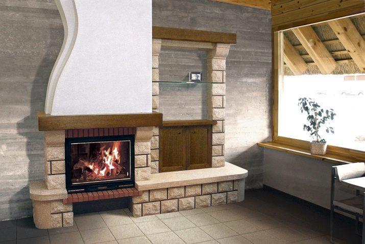 портал для дровяного камина