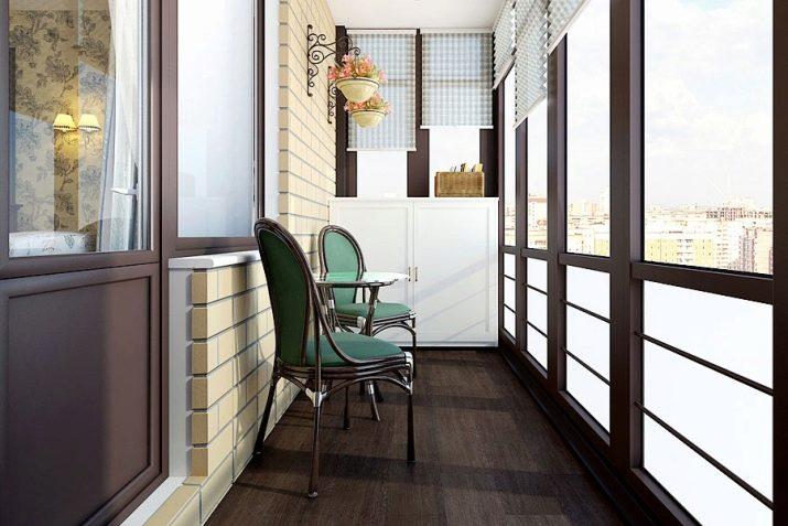 Дизайн узкого балкона фото 2018 современные идеи