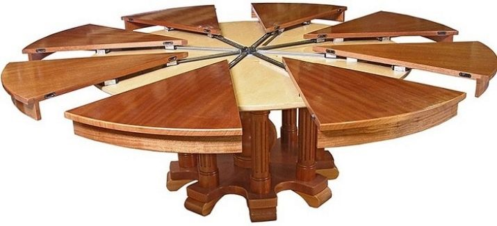 Круглый стол трансформер своими руками
