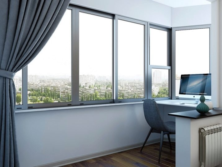 Панорамное остекление балкона (64 фото): дизайн лоджии и окн.