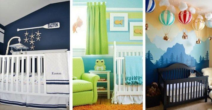 детские спальни для мальчиков 86 фото дизайн интерьера для 7 9