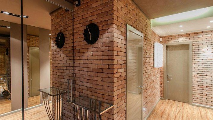 варианты отделки стен в прихожей 69 фото варианты дизайна ниши в