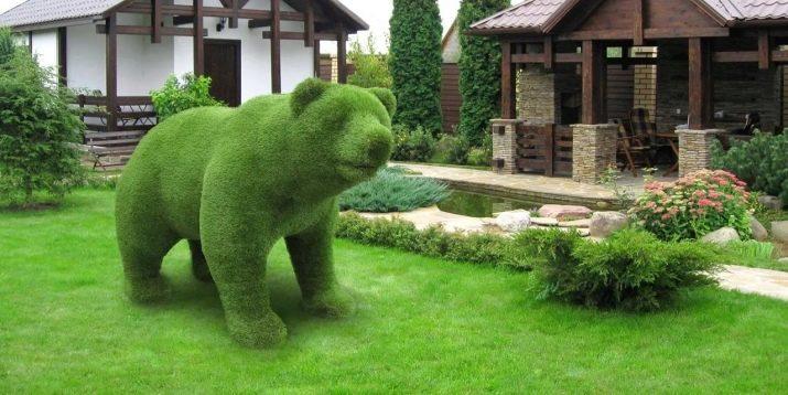 садовые фигуры из полистоуна для дачи купить
