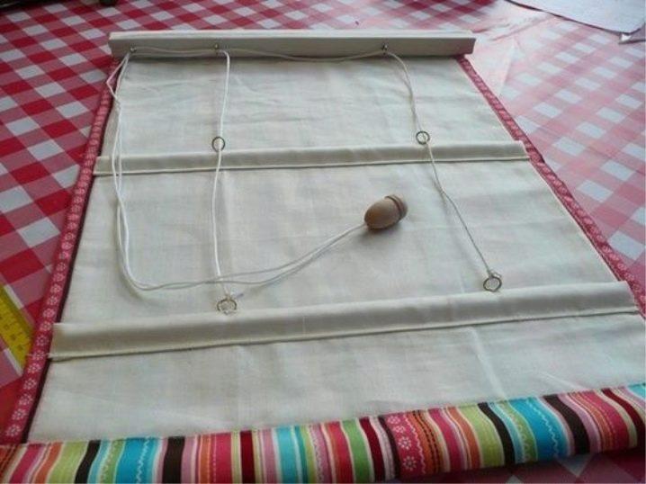 Жалюзи для кухни своими руками из ткани