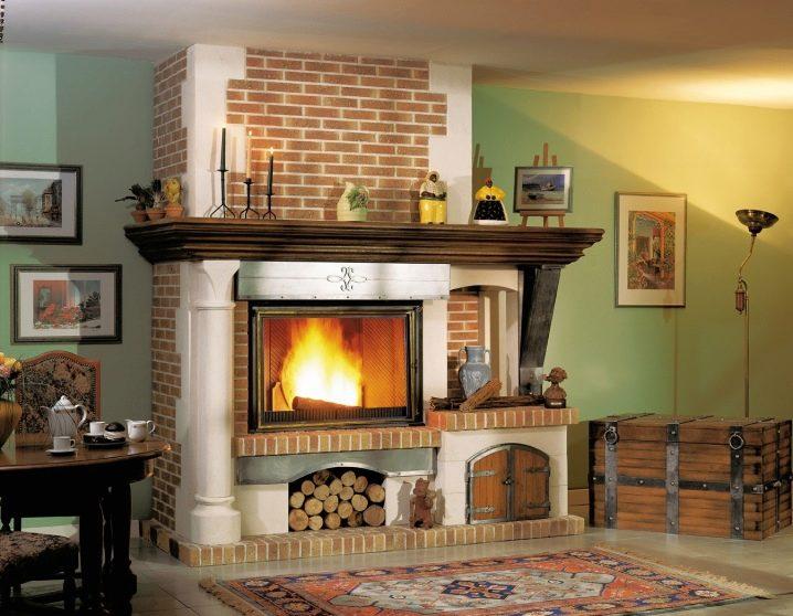 Дизайн каминов, дровяной камин, печь барбекю 60.htm барбекю на веранде пристроенной к дому
