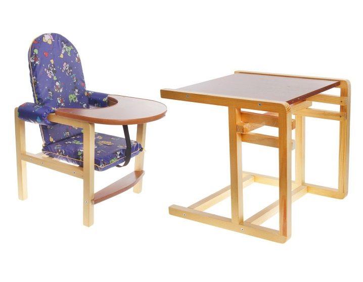 Деревянный стульчик - трансформер