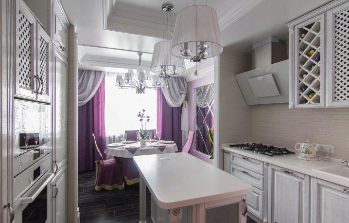 Кухня на лоджии (67 фото): объединение кухни с балконом и мо.