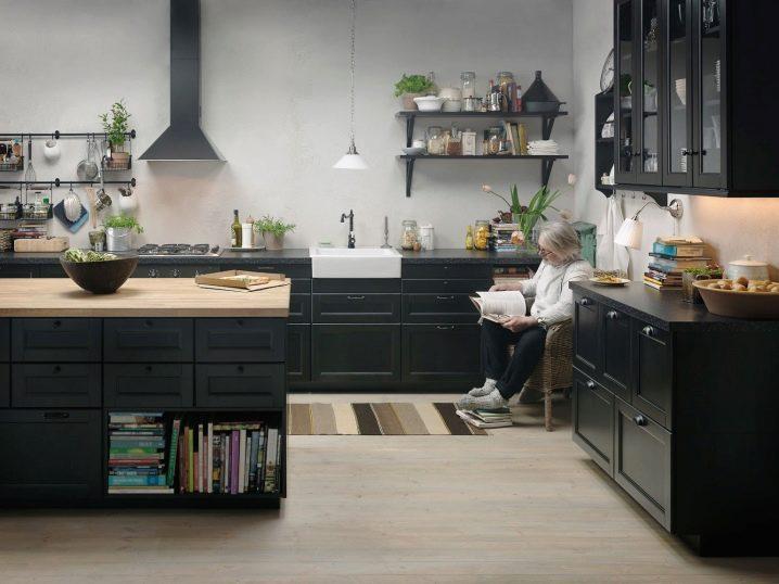 мебель для кухни Ikea 58 фото сборка и размеры кухонной мебели