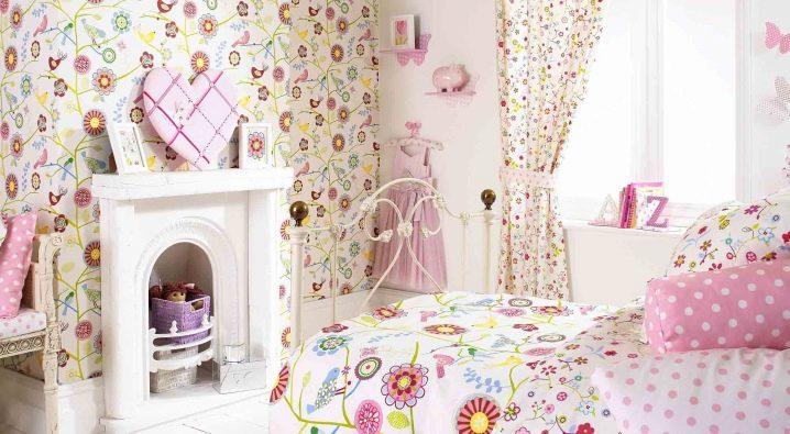 shtory-dlya-detskoj-komnaty-devochek-6 Шторы для детской комнаты девочек (77 фото): идеи готовых занавесок и тюли в спальню до подоконника