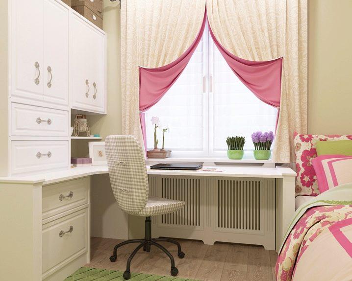 shtory-dlya-detskoj-komnaty-devochek-7 Шторы для детской комнаты девочек (77 фото): идеи готовых занавесок и тюли в спальню до подоконника