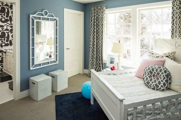 Шторы для детской комнаты в стиле унисекс