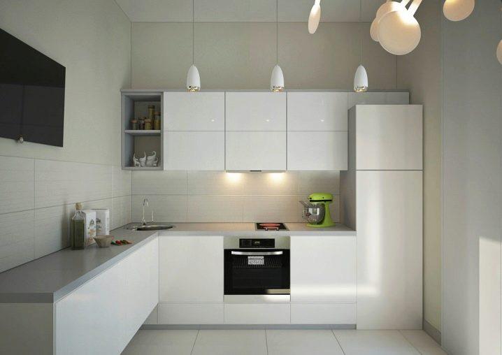 Угловой шкафчик на кухню фото