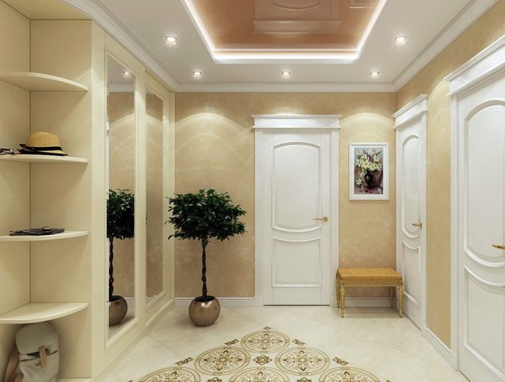 Фото дизайнов коридоров с белыми дверьми