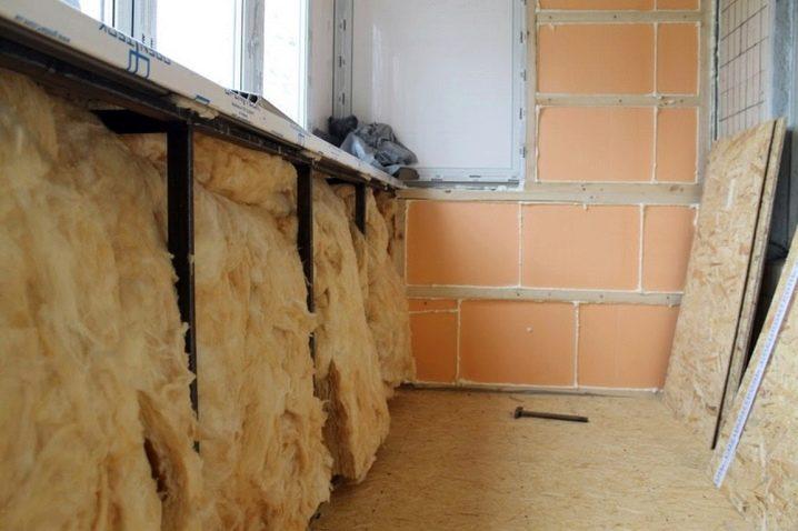 Утеплить балкон в панельном доме своими руками