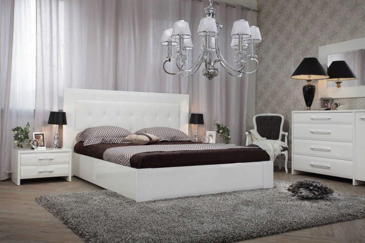белая мебель для спальни 94 фото глянцевая мебель для дизайна