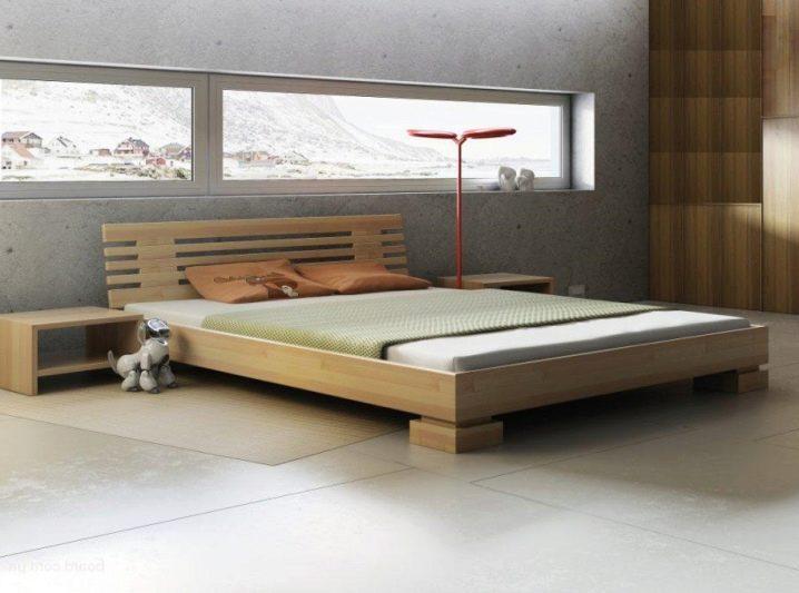 Простая кровать из досок своими руками 4