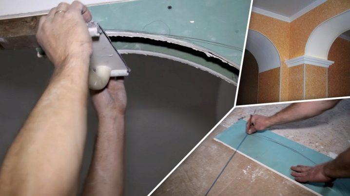 Фото как сделать арку в дверном фото 719