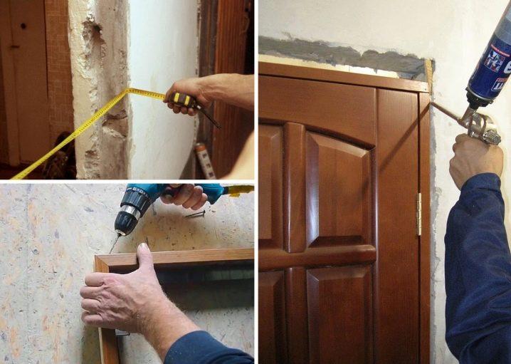 Установка дверей-гармошек: как установить своими руками, межкомнатная модель-книжка, монтаж раздвижных вариантов