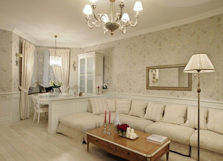 Обои в зал (274 фото): какие обои выбрать в гостиную, современные 2020-идеи дизайна интерьера, каталог с примерами отделки