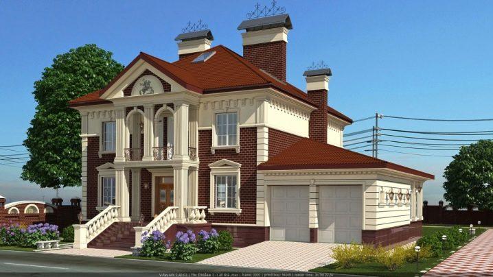 Дизайн фасада классического дома