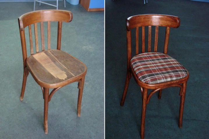 Как обновить старые стулья своими руками фото 143