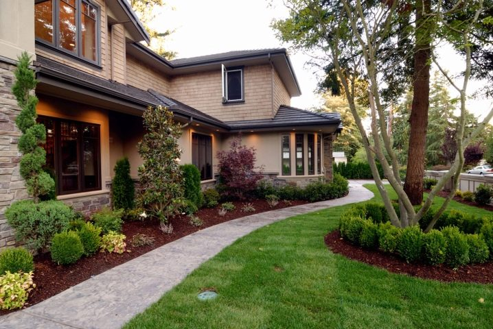 Ландшафтный дизайн двора частного дома: необычные идеи