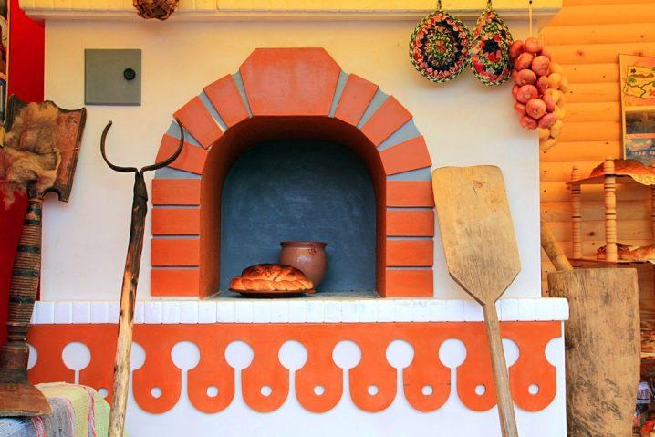 Декоративная плитка для печей