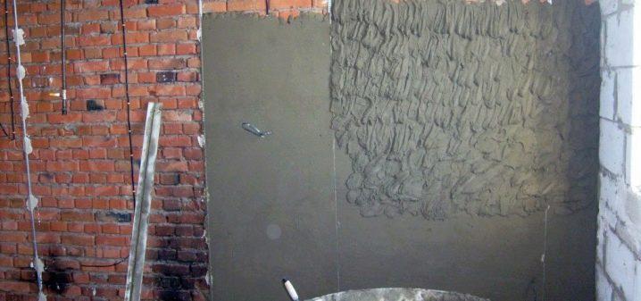 Наружная штукатурка стен цементным раствором состав вес 1 кубометра керамзитобетона
