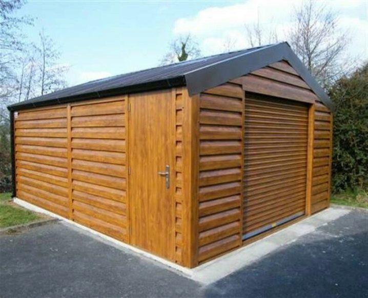 Гаражи деревянные готовые елец купить гараж