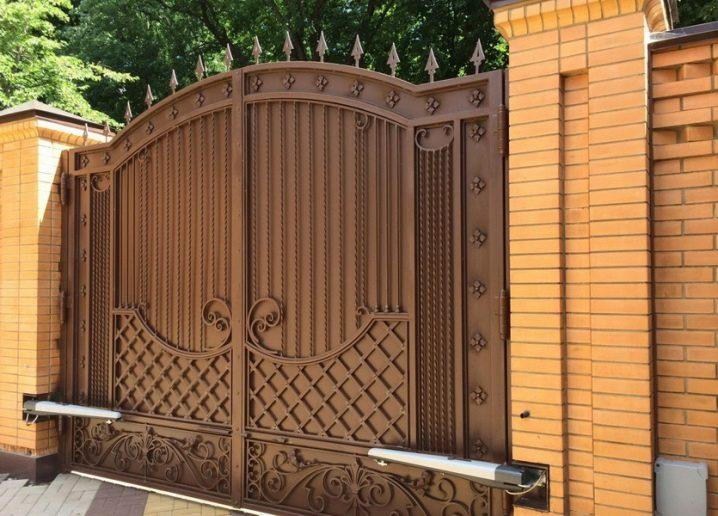 Нужно установить ворота